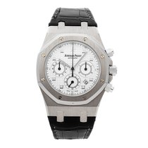 Audemars Piguet Royal Oak Chronograph White gold 39mm Silver United States of America, Pennsylvania, Bala Cynwyd