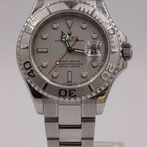 Rolex Yacht-Master 40 Steel 40mm Silver No numerals United Kingdom, Middlesbrough