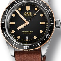Oris Divers Sixty Five Steel 40mm Black No numerals United States of America, New York, New York
