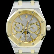Audemars Piguet Royal Oak Day-Date Gold/Steel 36mm Grey