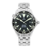 Omega Seamaster Diver 300 M Steel 45.5mm Black United States of America, New York, New York