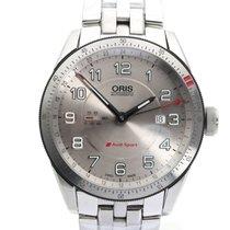 Oris Steel Automatic Silver Arabic numerals 44mm new Audi Sport
