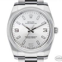 Rolex Oyster Perpetual 34 Stahl 34mm Silber Arabisch Deutschland, Stuttgart