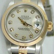 Rolex Lady-Datejust 26mm Plata