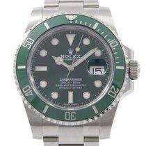 Rolex Submariner Date подержанные 40mm Зелёный
