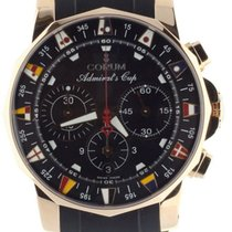 Corum Admiral's Cup (submodel) Rose gold 44mm Black United States of America, Illinois, BUFFALO GROVE
