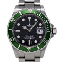 Rolex Submariner Date 16610 Bon Acier 40mm Remontage automatique