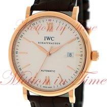 IWC Portofino Automatic Rose gold 40mm Silver Arabic numerals United States of America, New York, New York