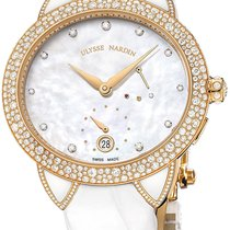 Ulysse Nardin Jade Rose gold Mother of pearl United States of America, New York, Brooklyn