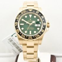 Rolex 116718LN Yellow gold GMT-Master II