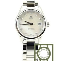 63f7d4f4a638 TAG Heuer Carrera Mother of Pearl Dial Stainless Steel Ladies.