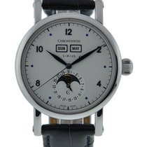 Chronoswiss Sirius Moonphase Stainless Steel Silver Dial On...