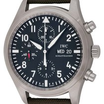 IWC : Classic Pilot's Chronograph :  IW371701 :  Stainless Steel