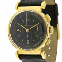 Universal Genève | 18 kt Yellow Gold Vintage Chronograph, from...