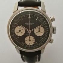 Breitling Top Time Acero 38mm Negro Sin cifras