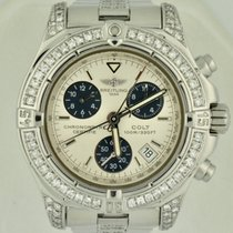Breitling Colt Chronograph Steel 41mm White No numerals United States of America, Georgia, Atlanta