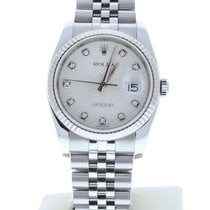 Rolex Silver Automatic Silver 36mm pre-owned Datejust
