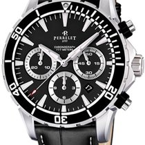 Perrelet Steel 55mm Automatic A1054.2 new