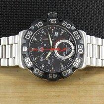 TAG Heuer 41mm Quarz 2011 gebraucht Formula 1 Quarz Schwarz
