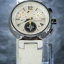 Louis Vuitton Chronograaf 35mm Quartz tweedehands Wit