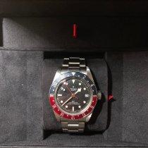 Tudor Black Bay GMT Stahl 41mm Schwarz Keine Ziffern Schweiz, Geneva