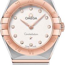 Omega Gold/Steel 25mm Quartz 131.20.25.60.52.001 new United States of America, New York, Airmont