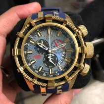 Invicta Gold/Steel Quartz 6477 pre-owned