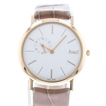 Piaget Rose gold Manual winding White 34mm pre-owned Altiplano