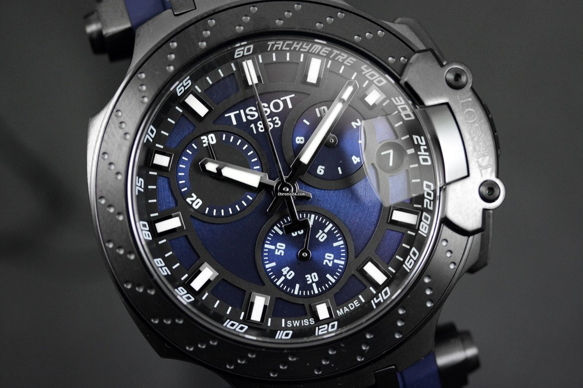 Tissot T-Race Chronograph T115.417.37.041.00 for $565 for sale ...