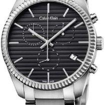 ck Calvin Klein Steel 42mm Quartz K5R37141 new