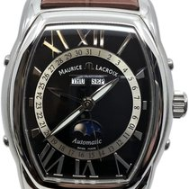 Maurice Lacroix Masterpiece Phases de Lune Steel 39mm Black Roman numerals United States of America, Florida, Naples