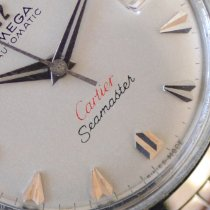 Omega Seamaster pre-owned 35mm Silver Date Steel