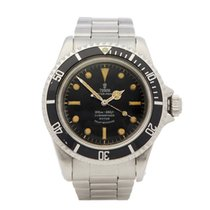 Tudor Submariner Steel 40mm Black