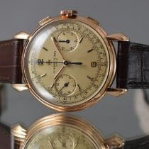 Vacheron Constantin Pозовое золото 36mm Механические 4178 подержанные