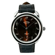 Hermès Arceau Steel 44mm Black Arabic numerals United States of America, New York, New York