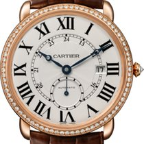 Cartier Ronde Louis Cartier Rose gold Silver United States of America, Florida, Sunny Isles Beach