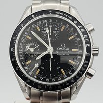Omega Speedmaster Day Date Steel 39mm Black No numerals United States of America, New Jersey, Long Branch