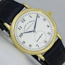 A. Lange & Söhne 1815 Yellow gold 36mm Silver (solid) Arabic numerals