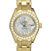 Rolex Lady-Datejust Pearlmaster 80298 подержанные