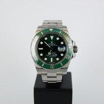 Rolex Submariner Date Acciaio 40mm Verde Senza numeri Italia, Bologna