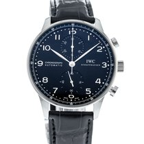 IWC Portuguese Chronograph IW3714-47 2010 pre-owned