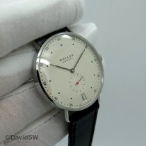 NOMOS Metro 38 Datum new Manual winding Watch with original box and original papers 1102