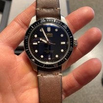 Oris Divers Sixty Five Steel Black