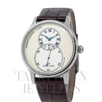 Jaquet-Droz Grande Seconde White gold 43mm Champagne Roman numerals United States of America, New York, Hartsdale