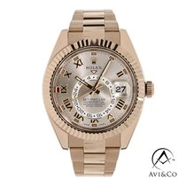 Rolex Sky-Dweller Rose gold 42mm Pink Roman numerals United States of America, New York, New York