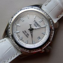 Tissot PRC 100 Steel 28mm Mother of pearl No numerals