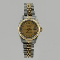 Rolex LADY DATE JUST STEEL & GOLD DiAMOND DiAL 26mm