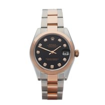 Rolex Datejust Stainless Steel & 18k Rose Gold Ladies...