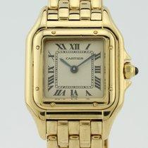 Cartier Panthere Quartz 18k Gold Lady 1070