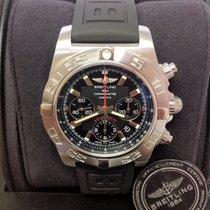 Breitling Acero Automático Negro Sin cifras 44mm usados Chronomat 44